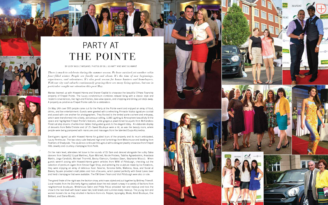 Maniac Magazine - The Pointe Party