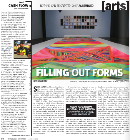 Pittsburgh CityPaper - Arts Feature