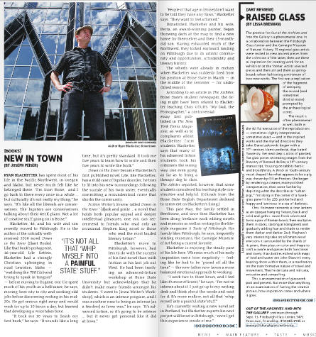 Pittsburgh CityPaper - Interview and Profile