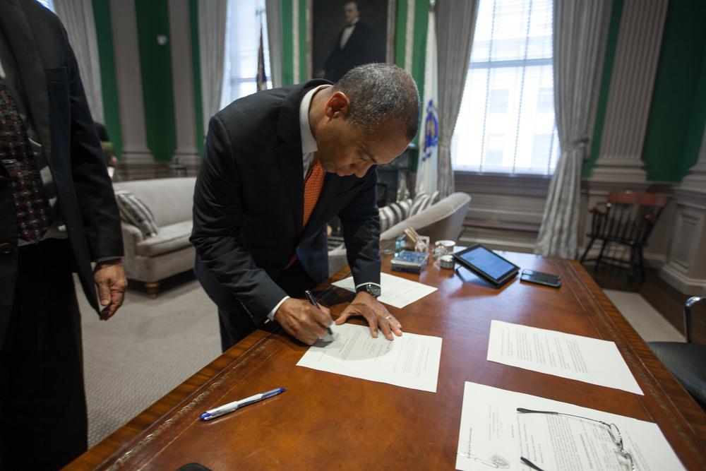 Governor Deval Patrick - Massachusetts State House - Boston, MA