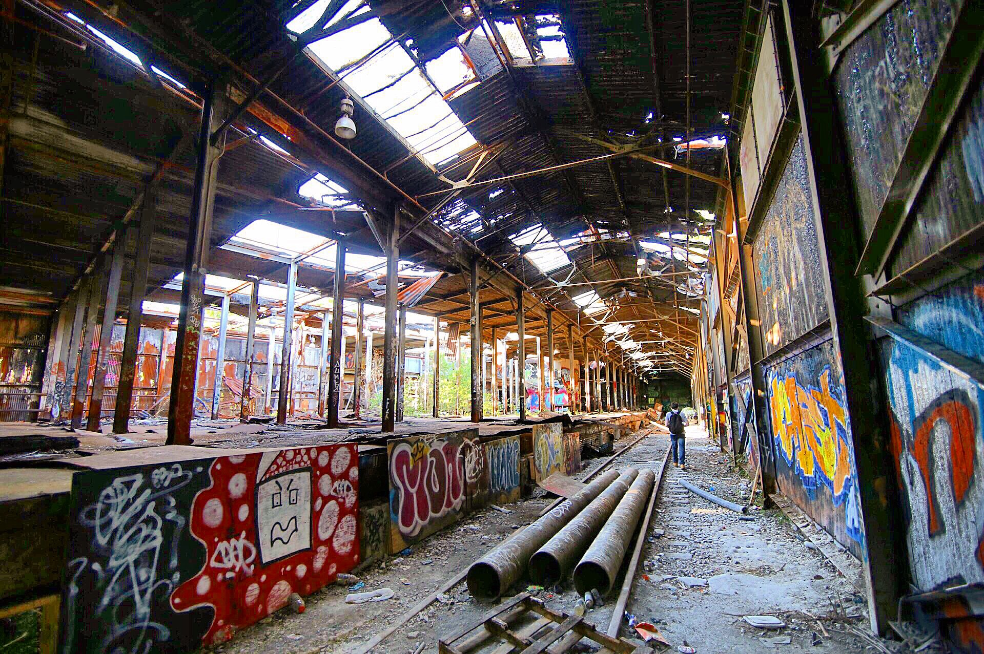 Abandoned Paper Mill - MA