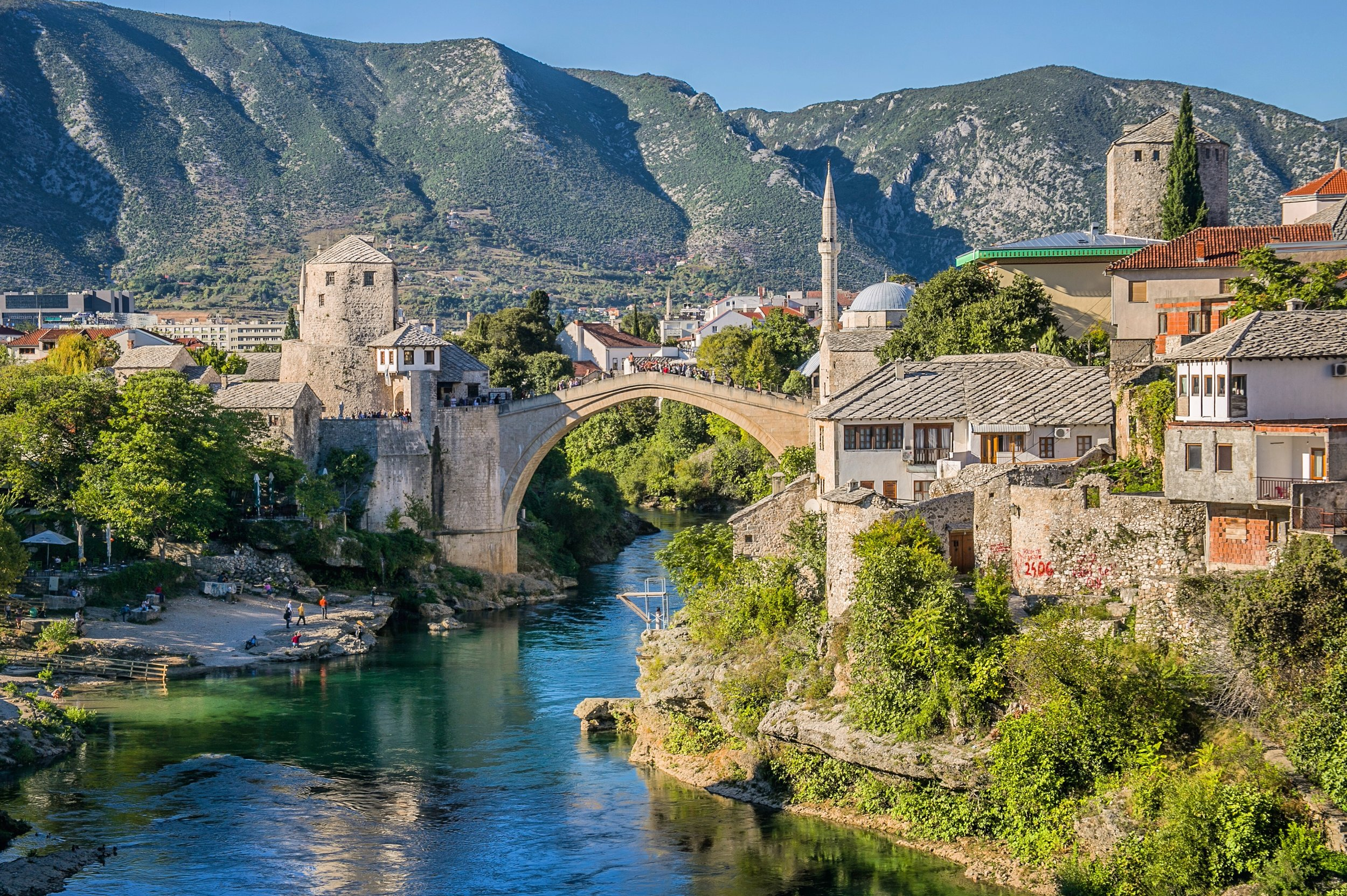 The Old Bridge - Mostar, Bosnia