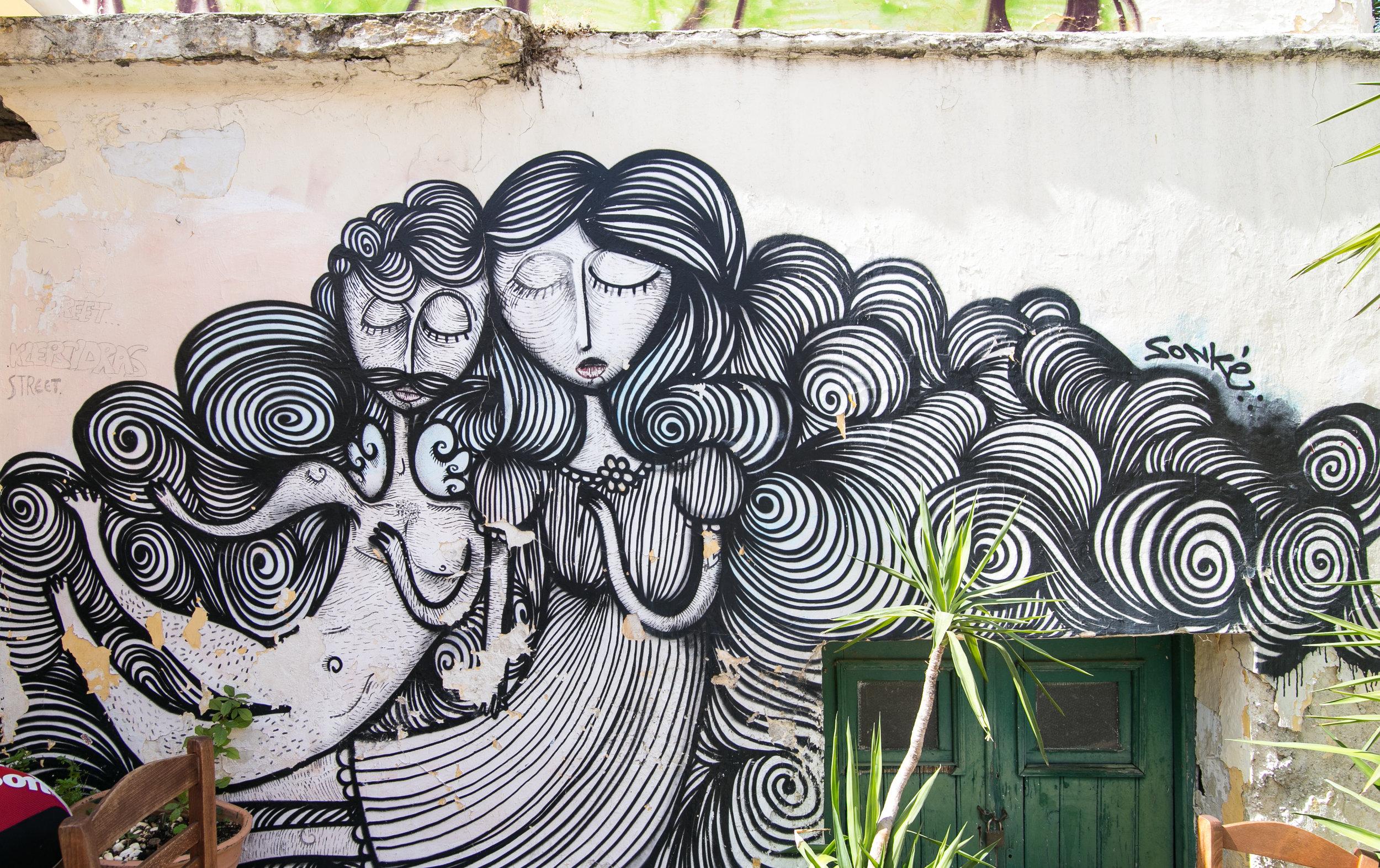 Street Art - Monastiraki - Athens, Greece