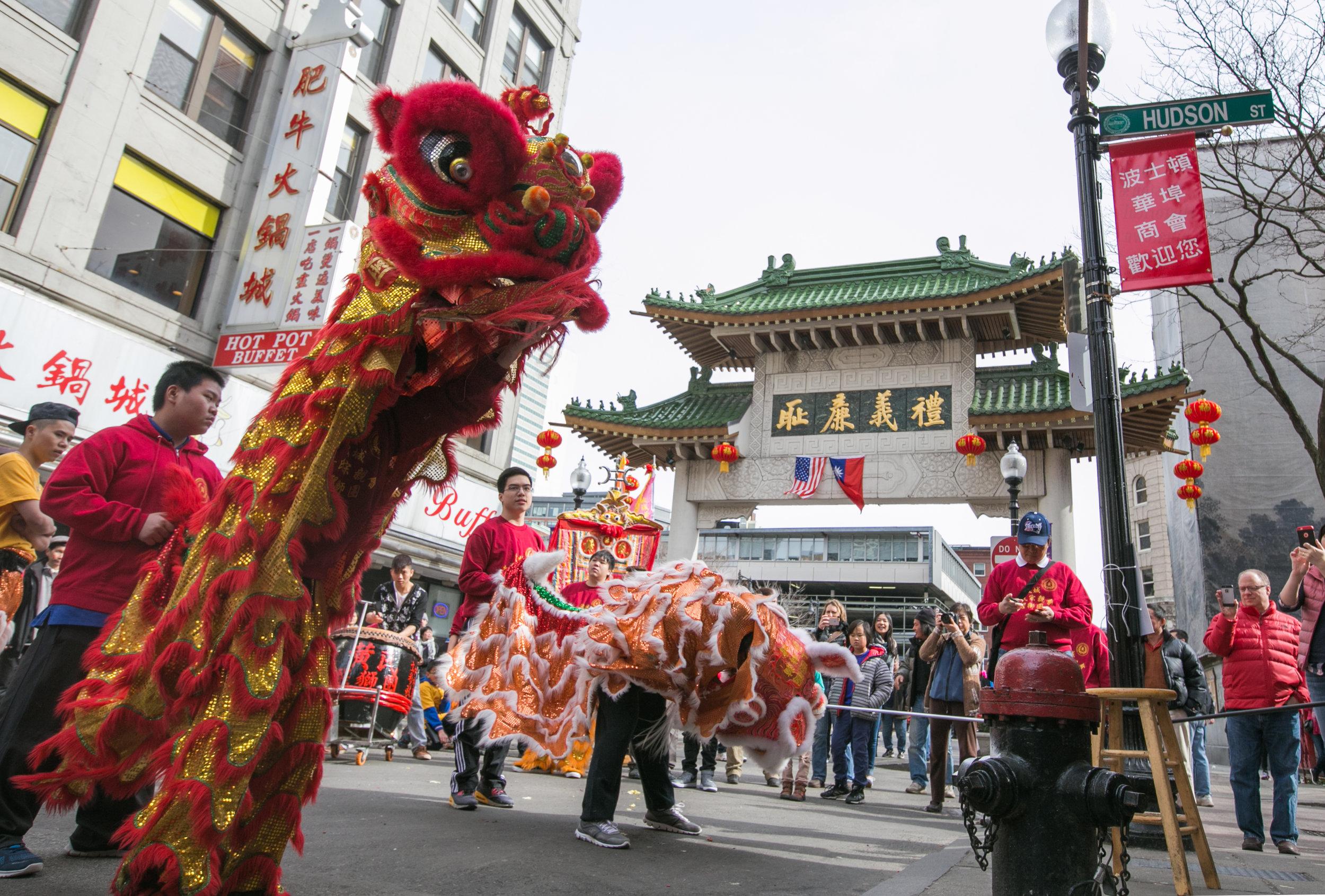 02/21/16 - Chinese New Year - Boston, MA