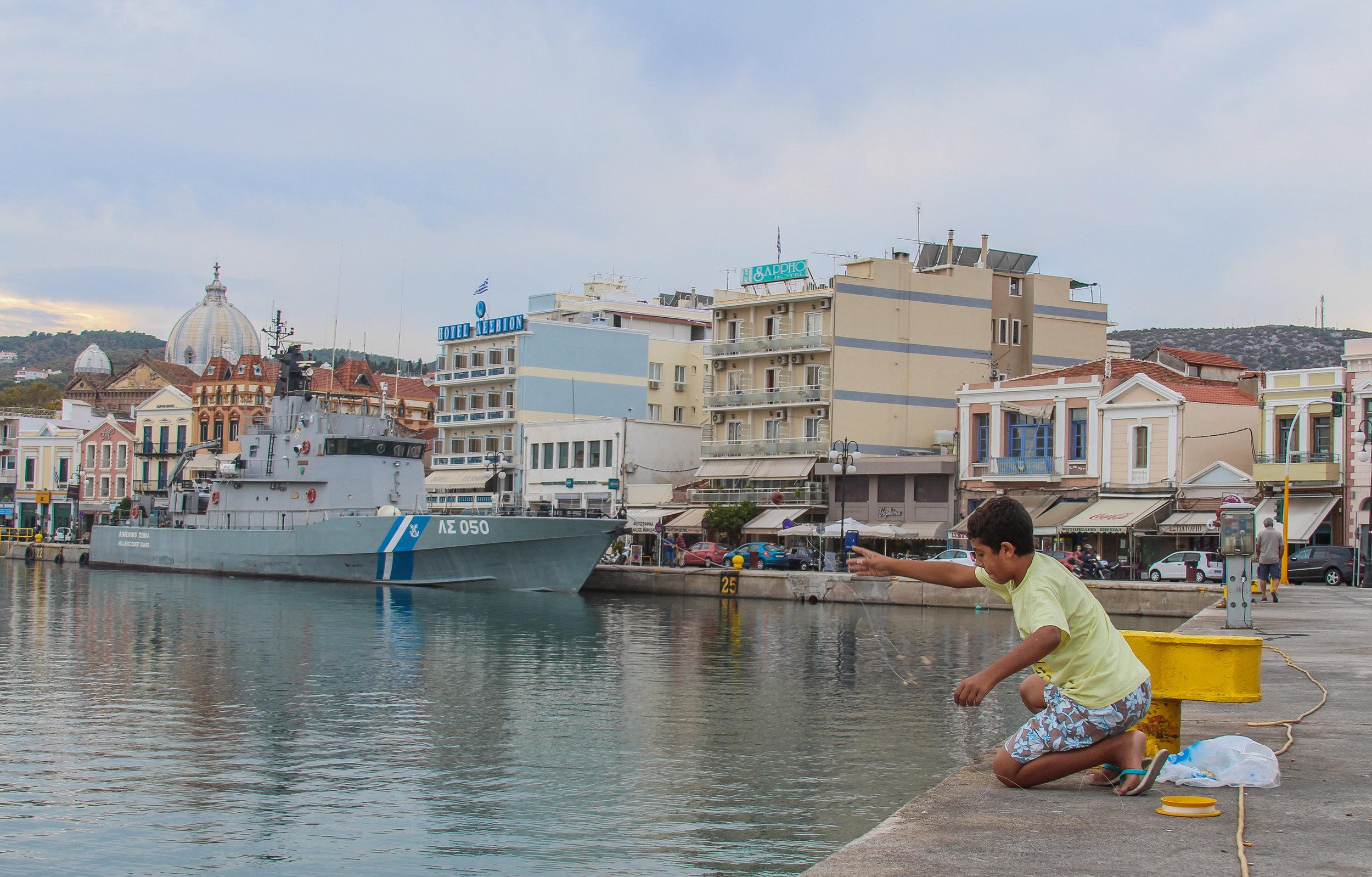 09/21/16 - Moria Refugee Camp Coverage - Lesvos Greece