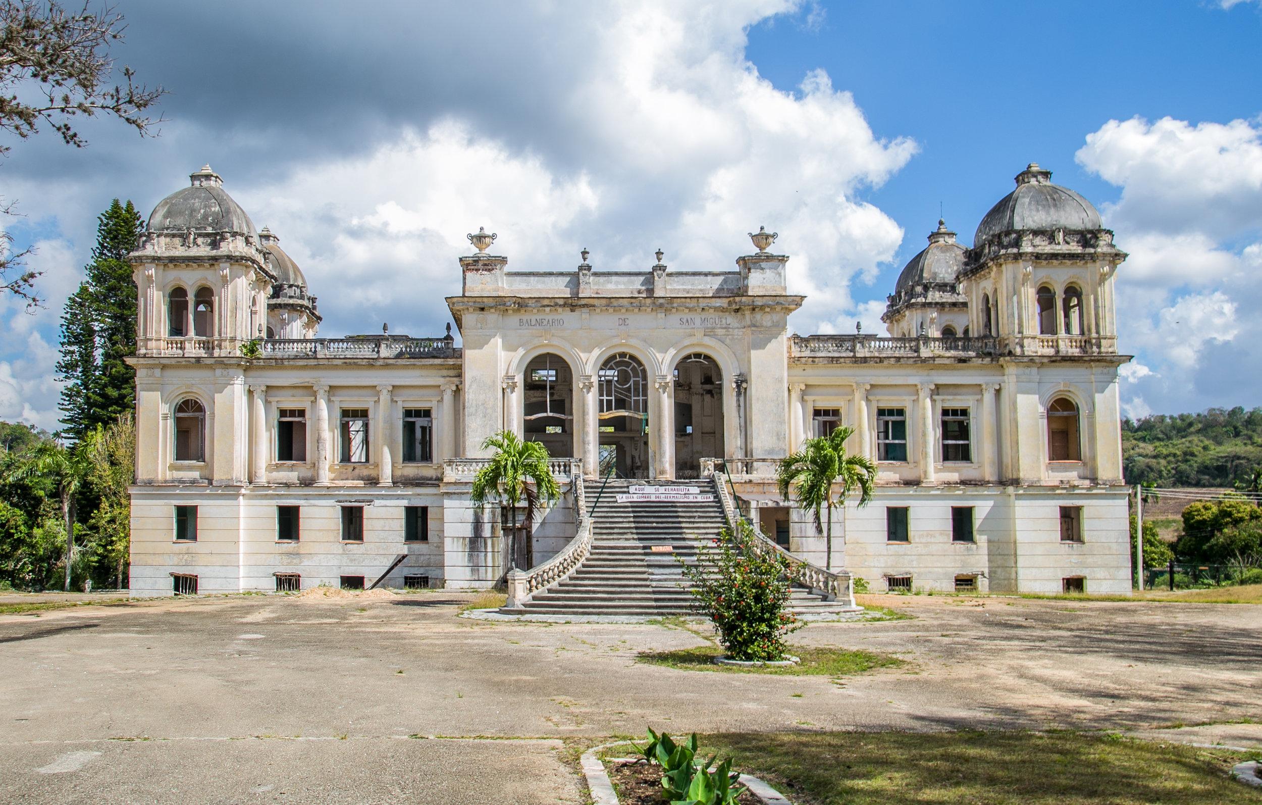 Gran Hotel y Balneario - San Miguel de los Baños, Cuba