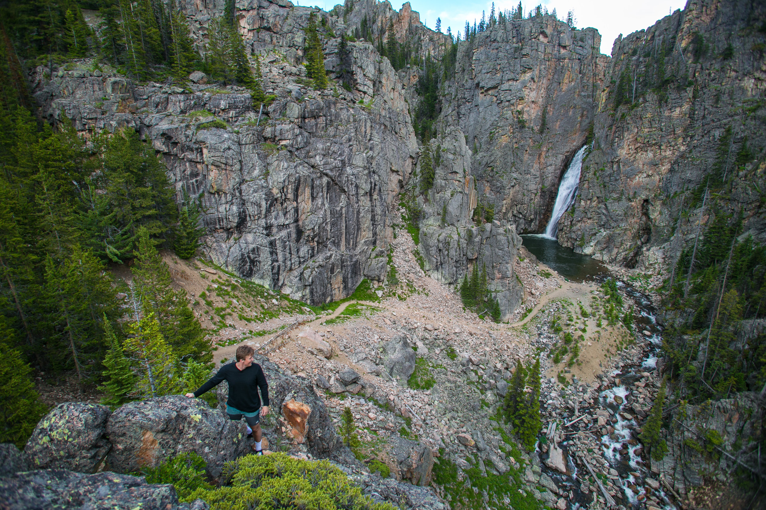 Porcupine Falls, Big Horn National Forest, WY