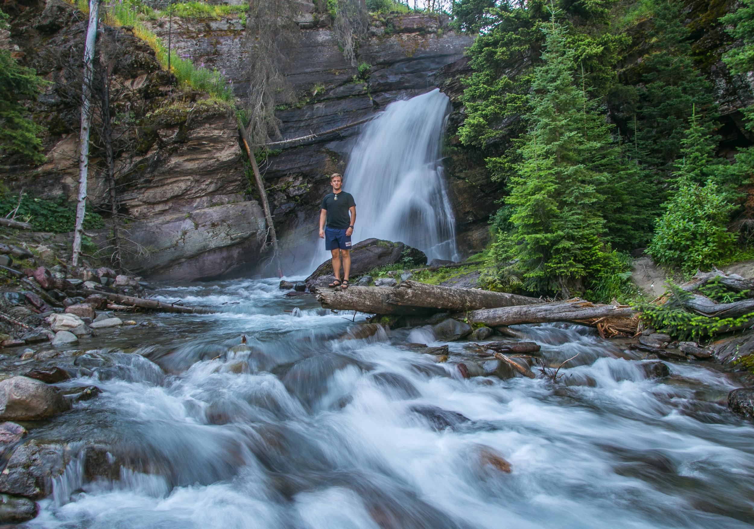 Baring Falls - Glacier National Park
