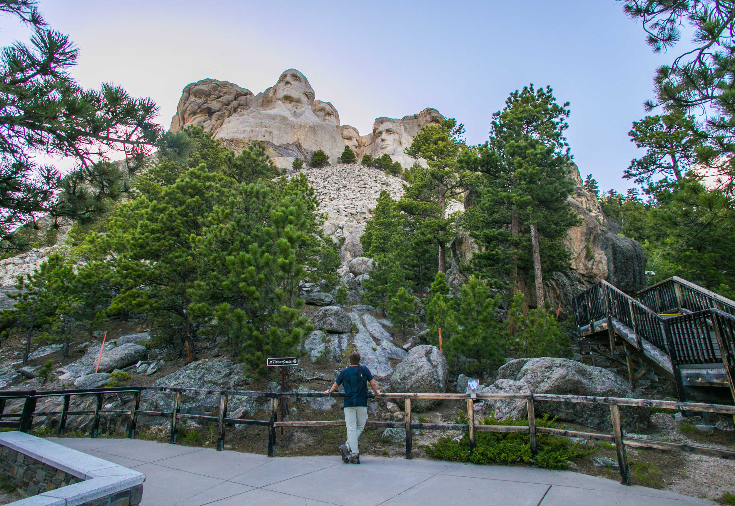 Mt. Rushmore, Black Hills National Forest, SD