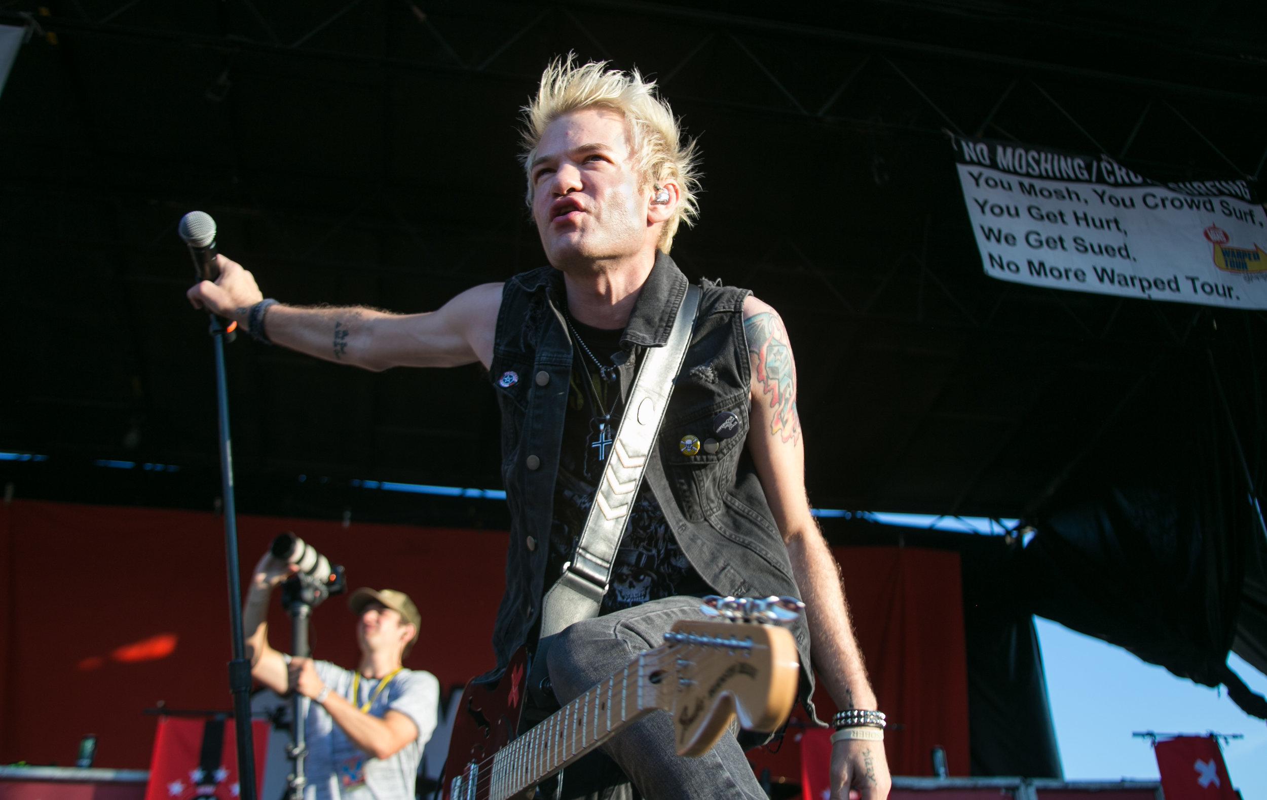 Sum 41 - Vans Warped Tour '16 - Boston