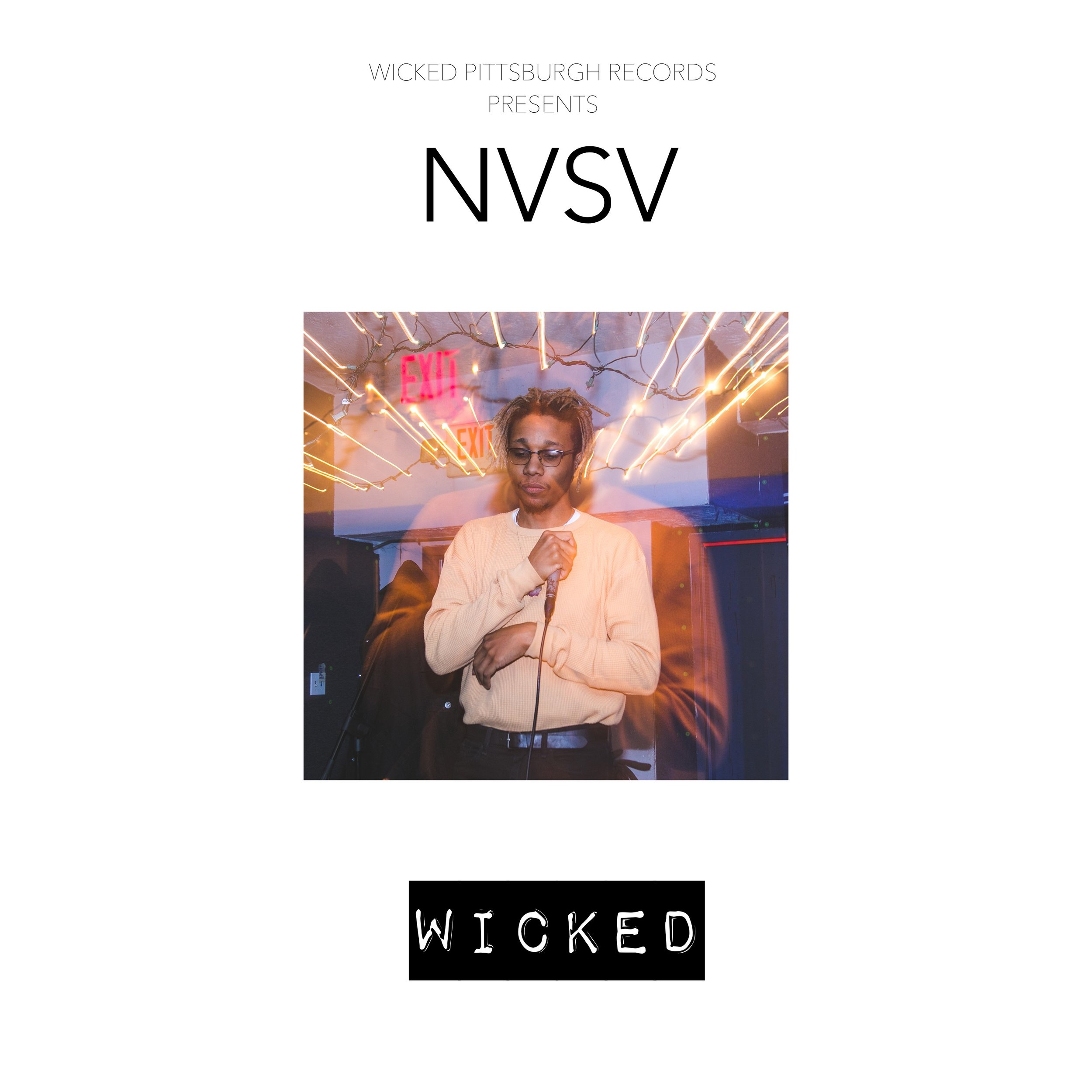 NVSV Album Cover - photo and design by Michael Schwarz