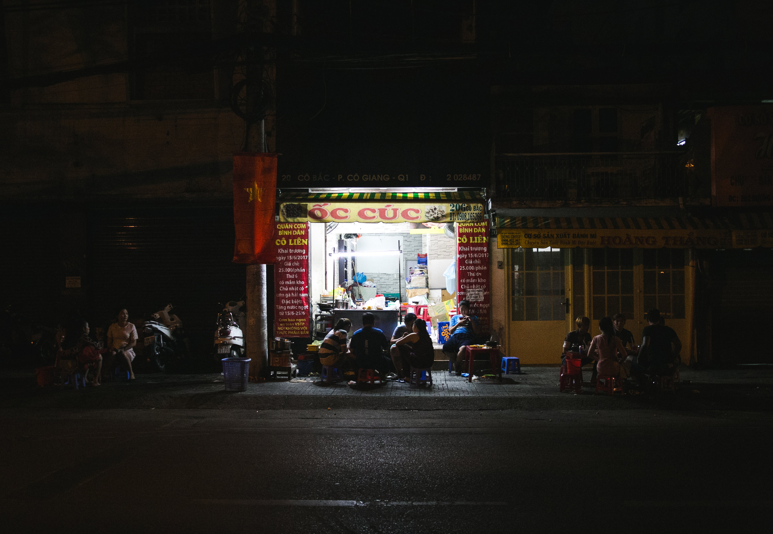 12:05am - Ho Chi Minh City, Vietnam
