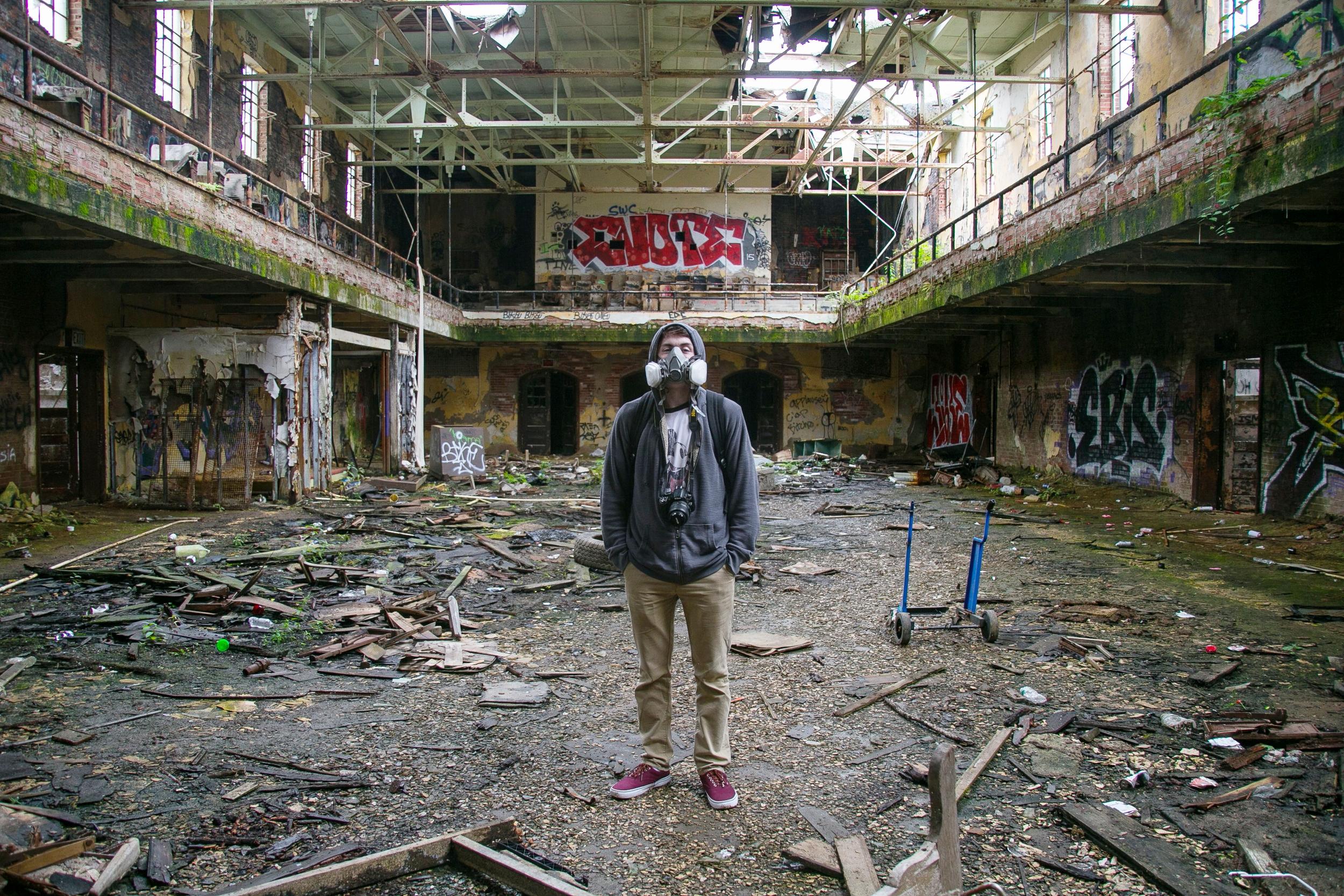 Lucas Esposito - Urban Explorer - Belchertown State School - Belchertown, MA