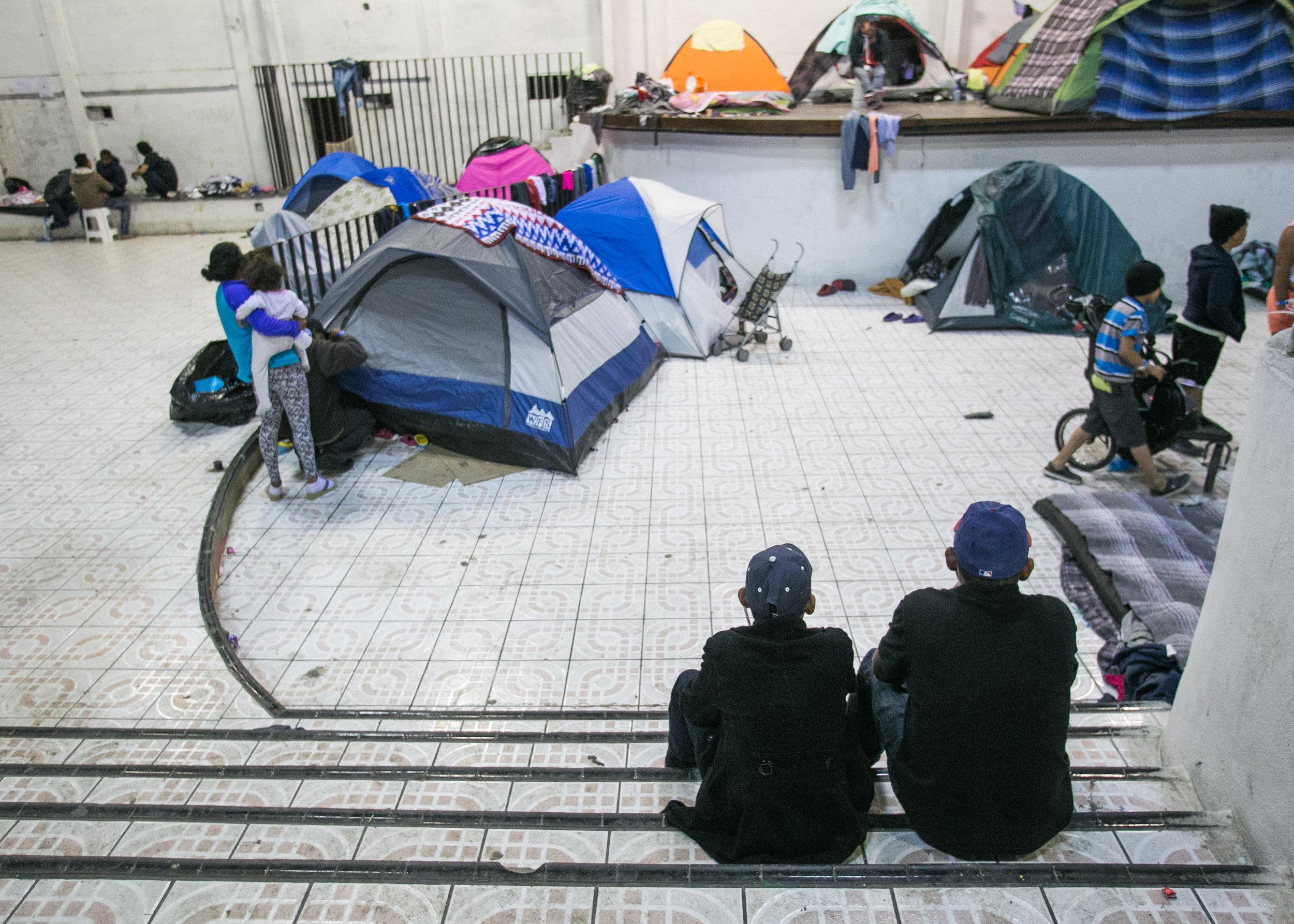 Barretal Refugee Compound - Tijuana, Mexico