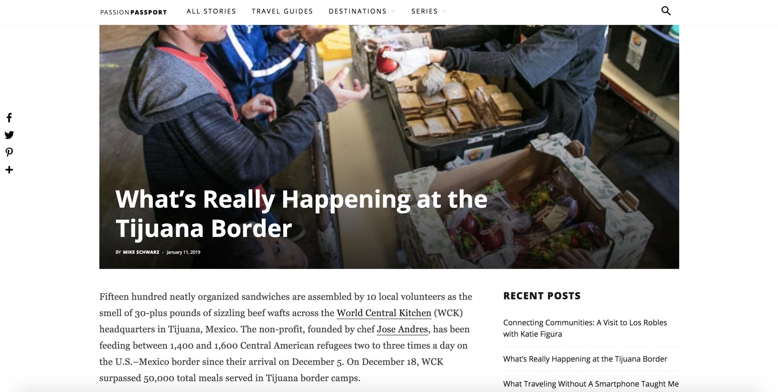 Passion Passport - Tijuana Border Crisis