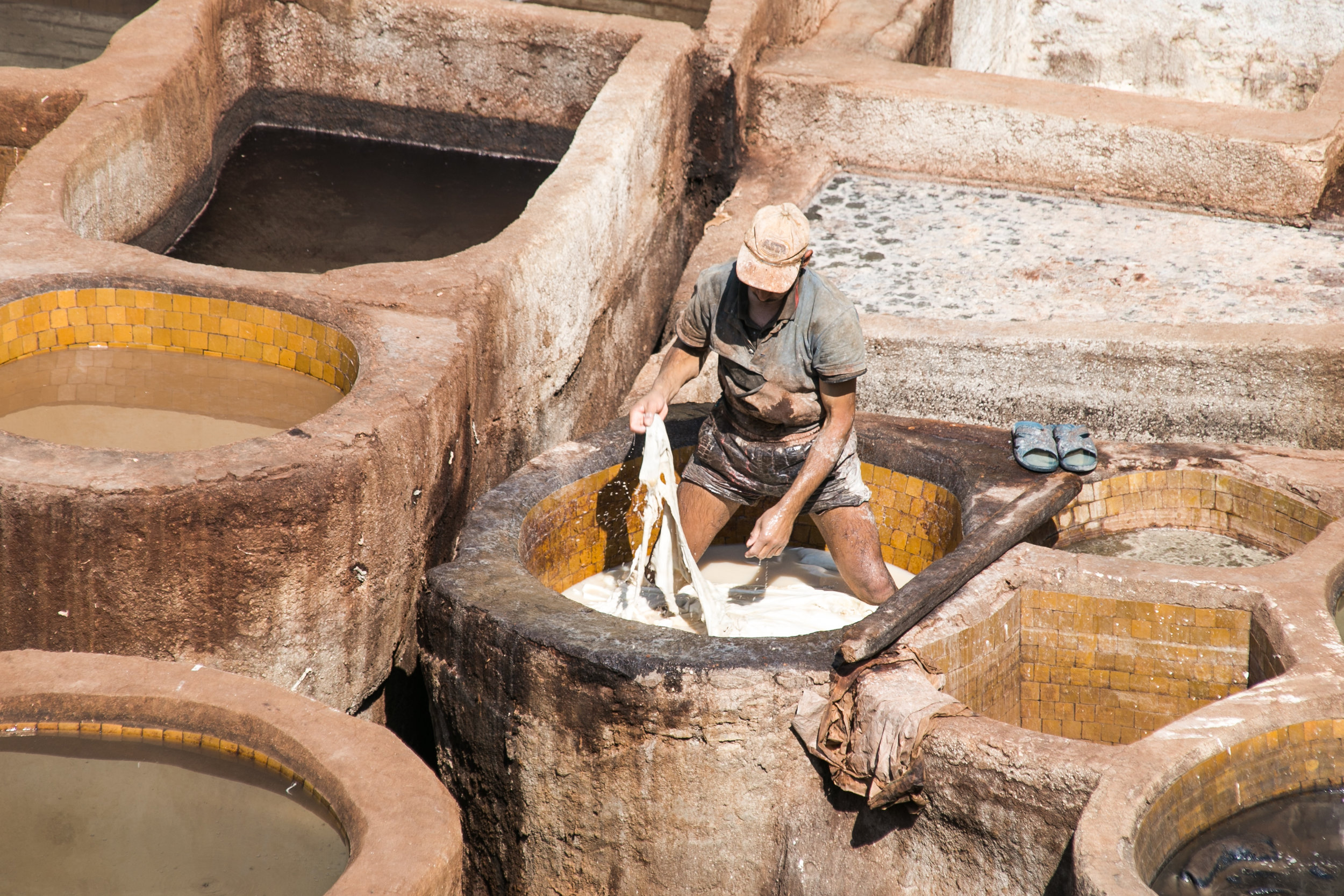 Tannery - Fes, Morocco