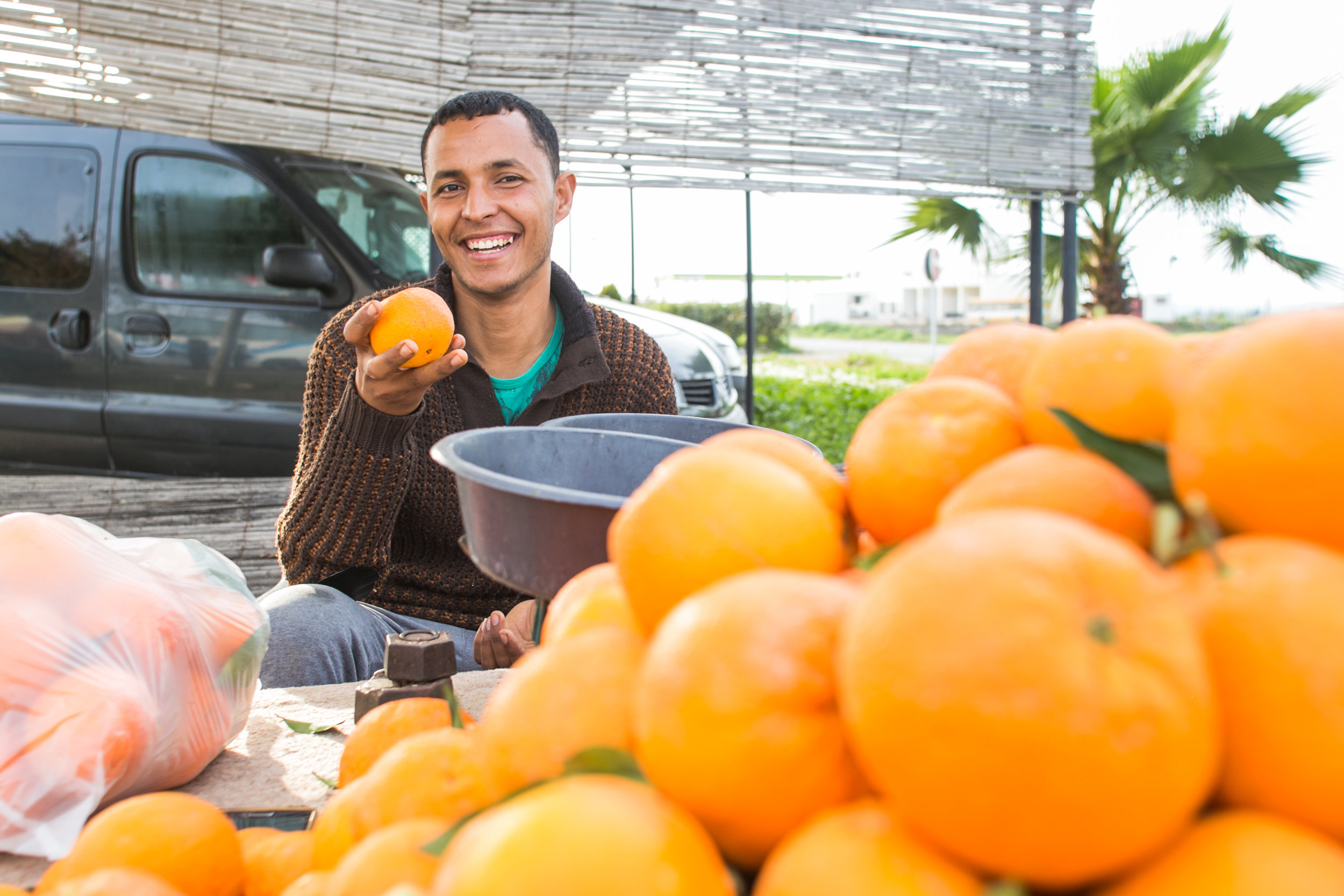 Abd Sadec - Orange Salesman - Zouuhri, Morocco