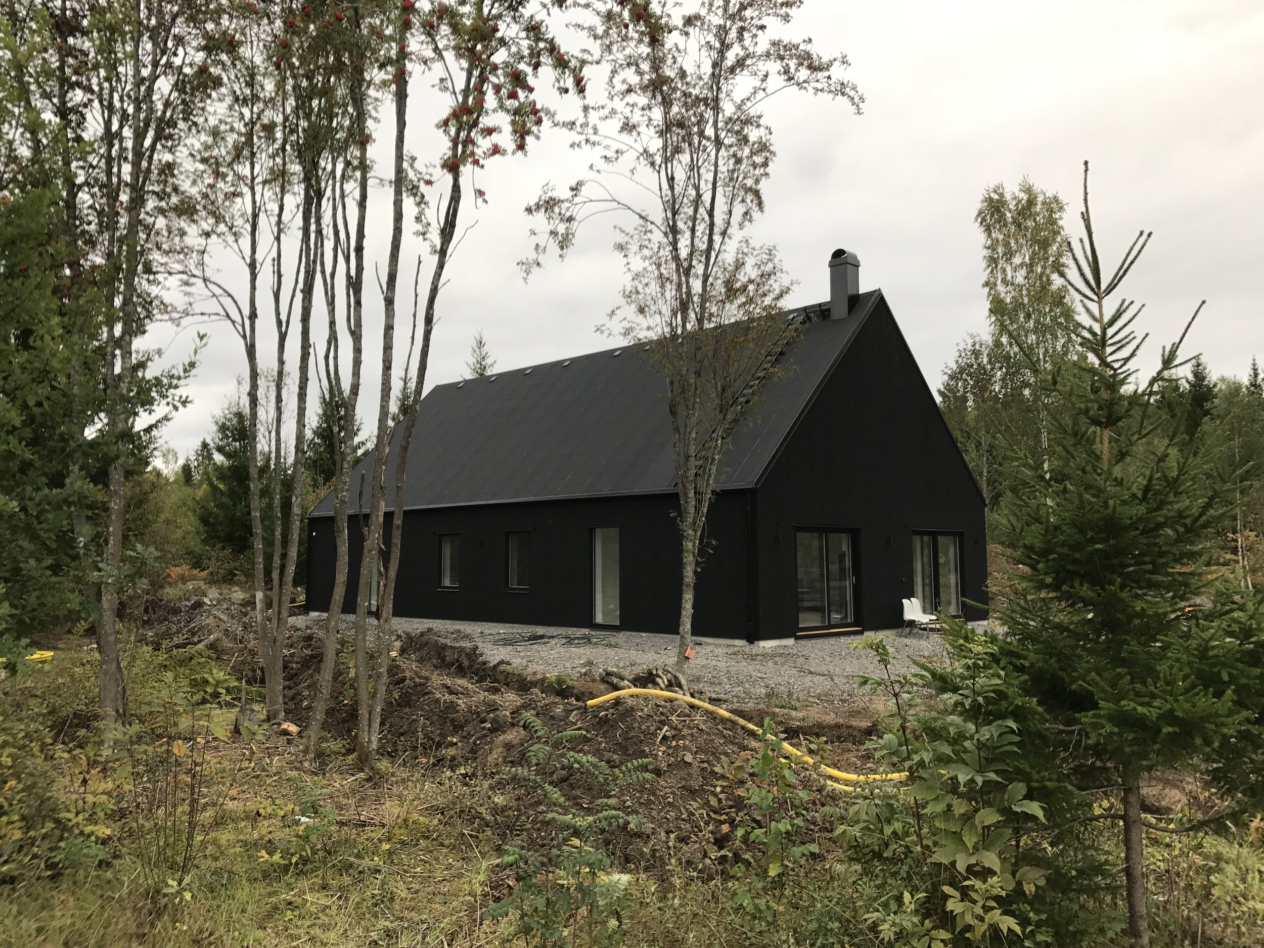 Nybyggnation villa Lena-Ekeby 2