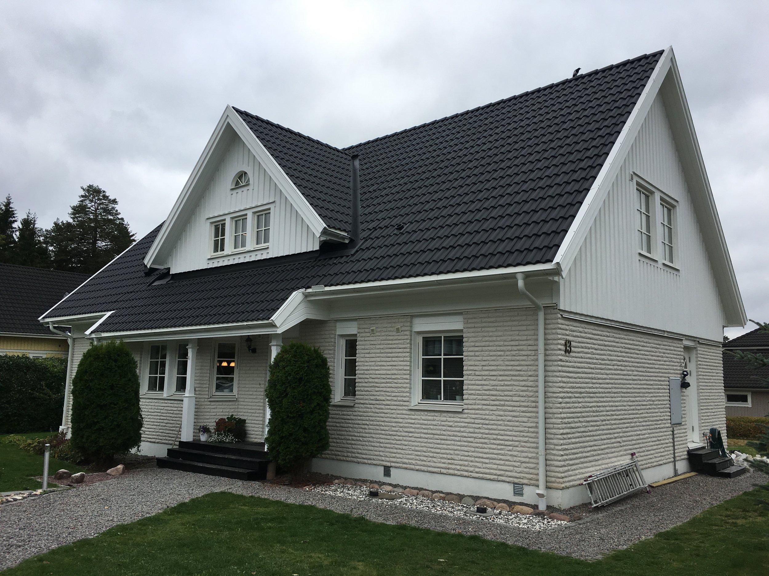 Taklyft på enplansvilla Uppsala