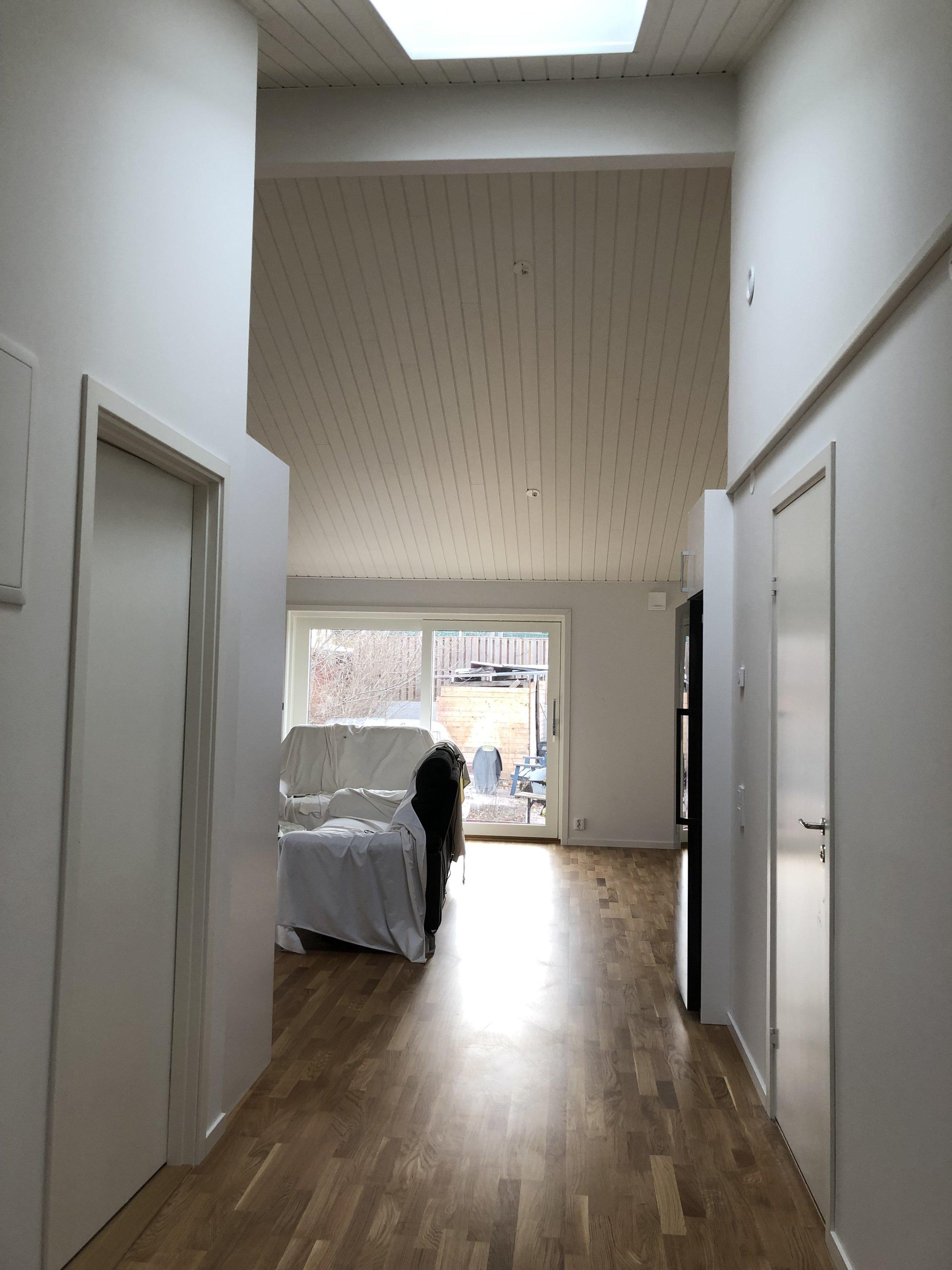 Ombyggnad av garage till lägenhet