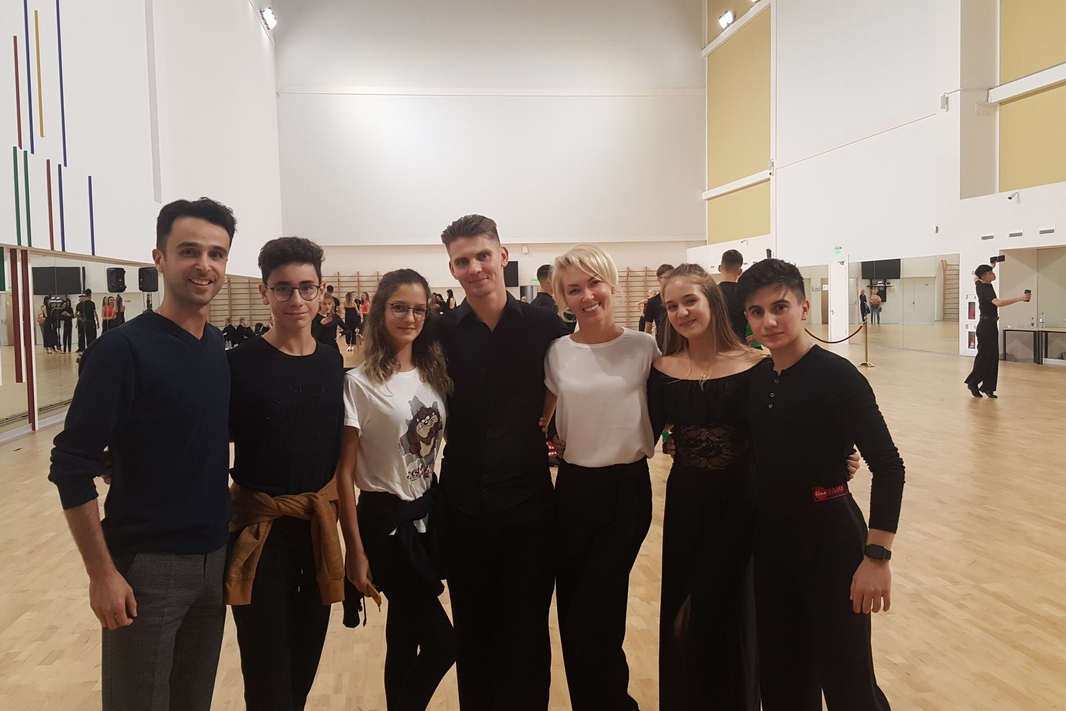 Moskova Dans Kampı, 17-18-19 Eylül