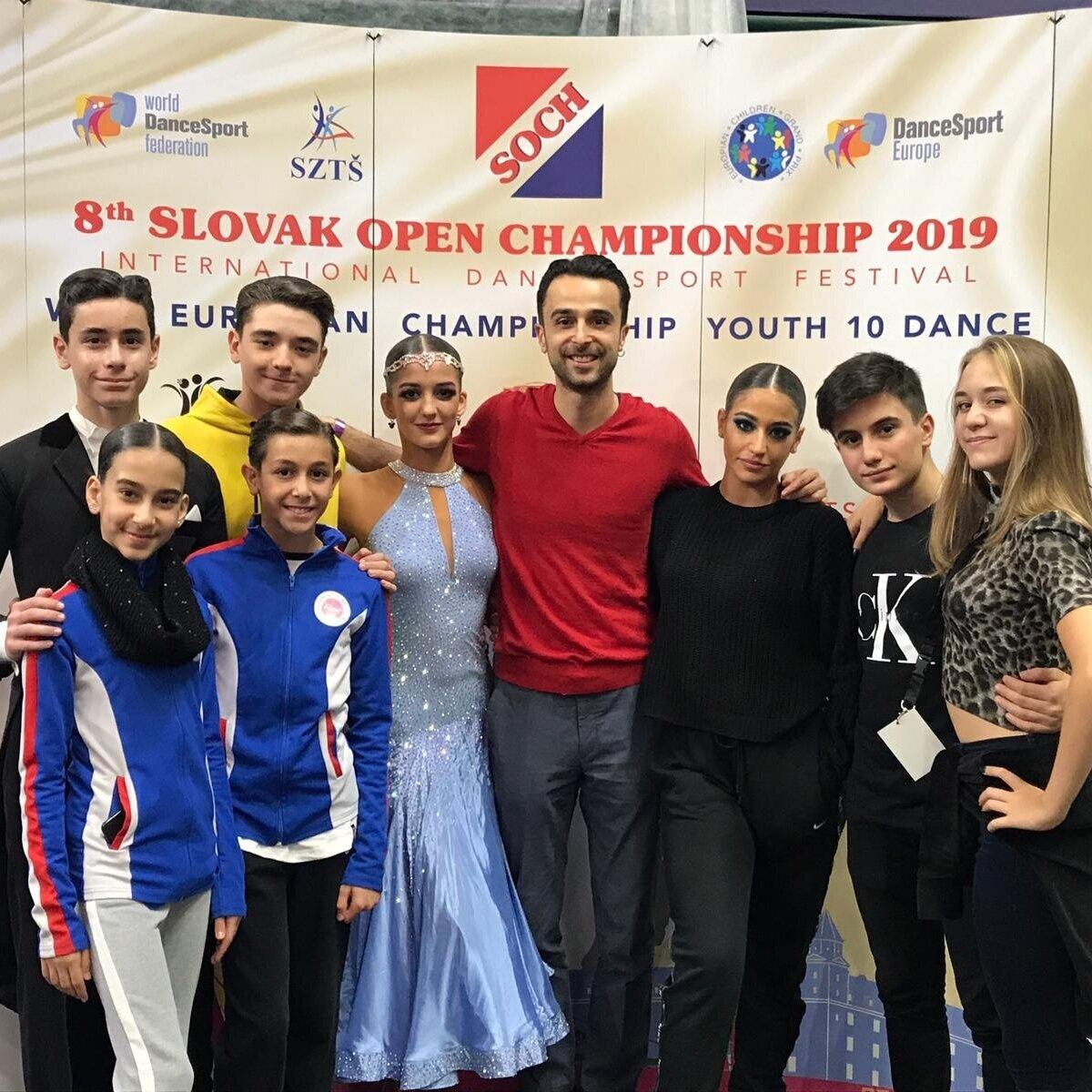WDSF Slovak Open, 21-22 Eylül