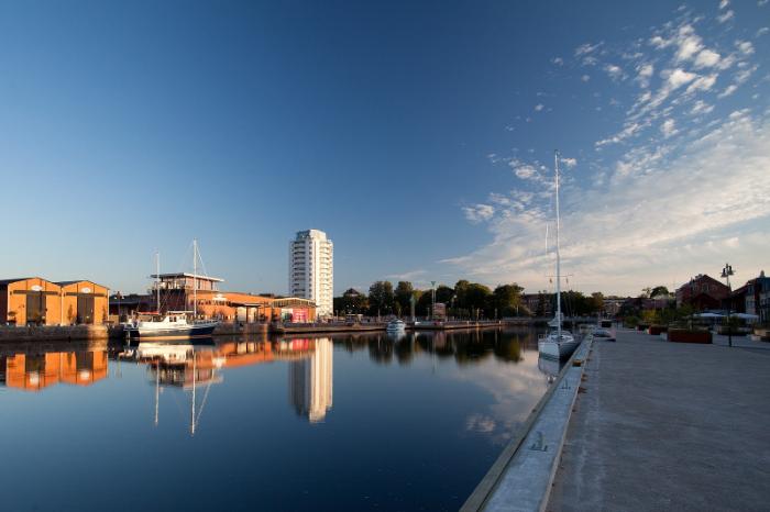 Hamnen i Nyköping.