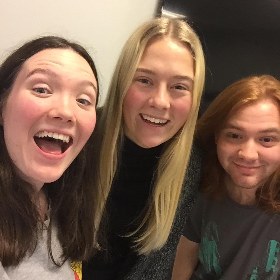 Malin, Ebba och Emanuel