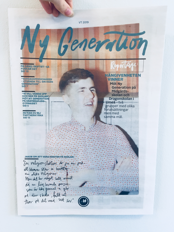 Vårnumret av NG-tidningen.