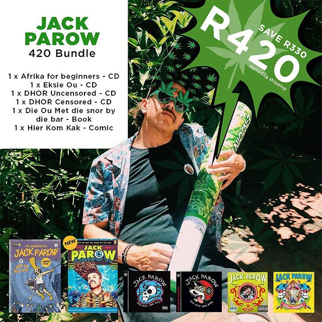 Ouens! It's 420 and you know what that means 😉 Get in on this lekker R420 bundle special and stock up on your Parowphernalia stash before it goes up in smoke! Check my story 🙌🏼