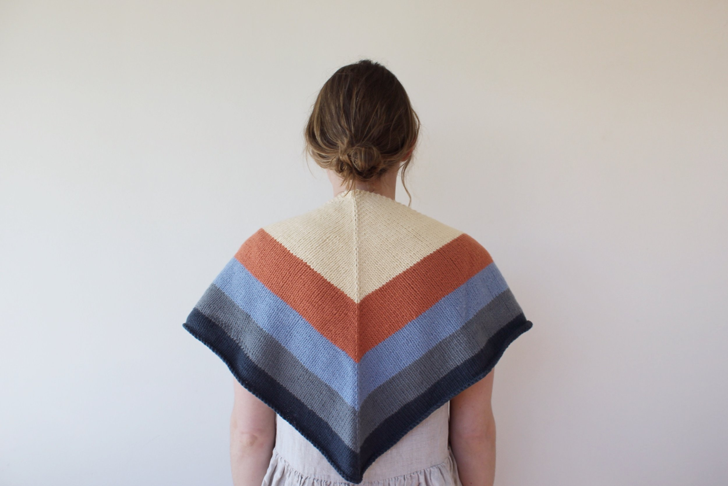 a shawl pattern i wrote for a class i taught with Lily and Dot in Dec '17