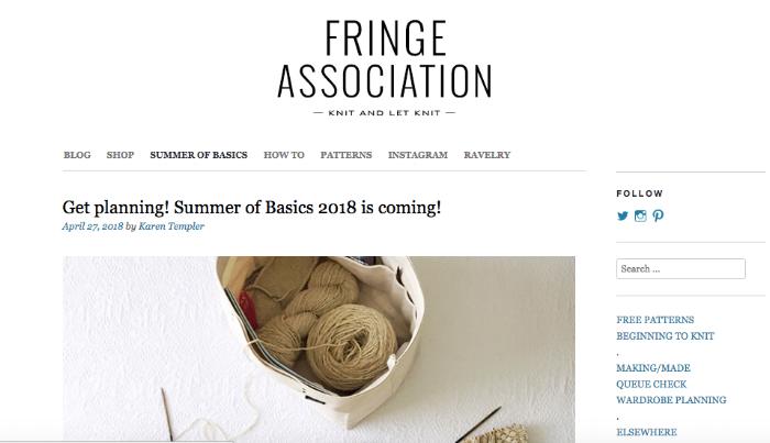 (screen grab from Karen's blog Fringe Association)