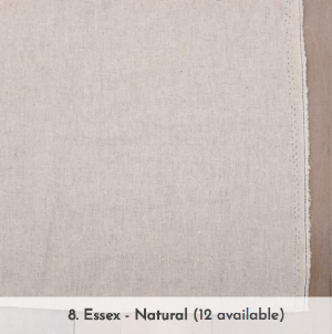 screen grab of Essex linen cotton from A Verb for Keeping Warm website <3
