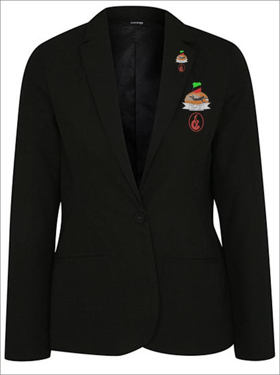 Female Half Colour Badge and Lapel Pin - Corona - NGN 15,000 (Badge) NGN 10,000 (Pin)