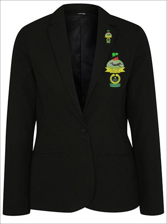 Female Full Colour Badge and Lapel Pin - Chrisland - NGN 15,000 (Badge) NGN 10,000 (Pin)