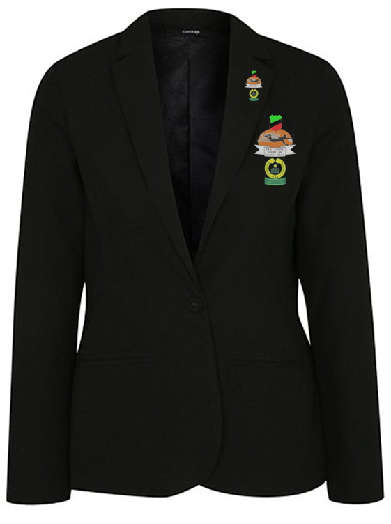 Female Half Colour Badge and Lapel Pin - Chrisland  - NGN 15,000 (Badge) NGN 10,000 (Pin)