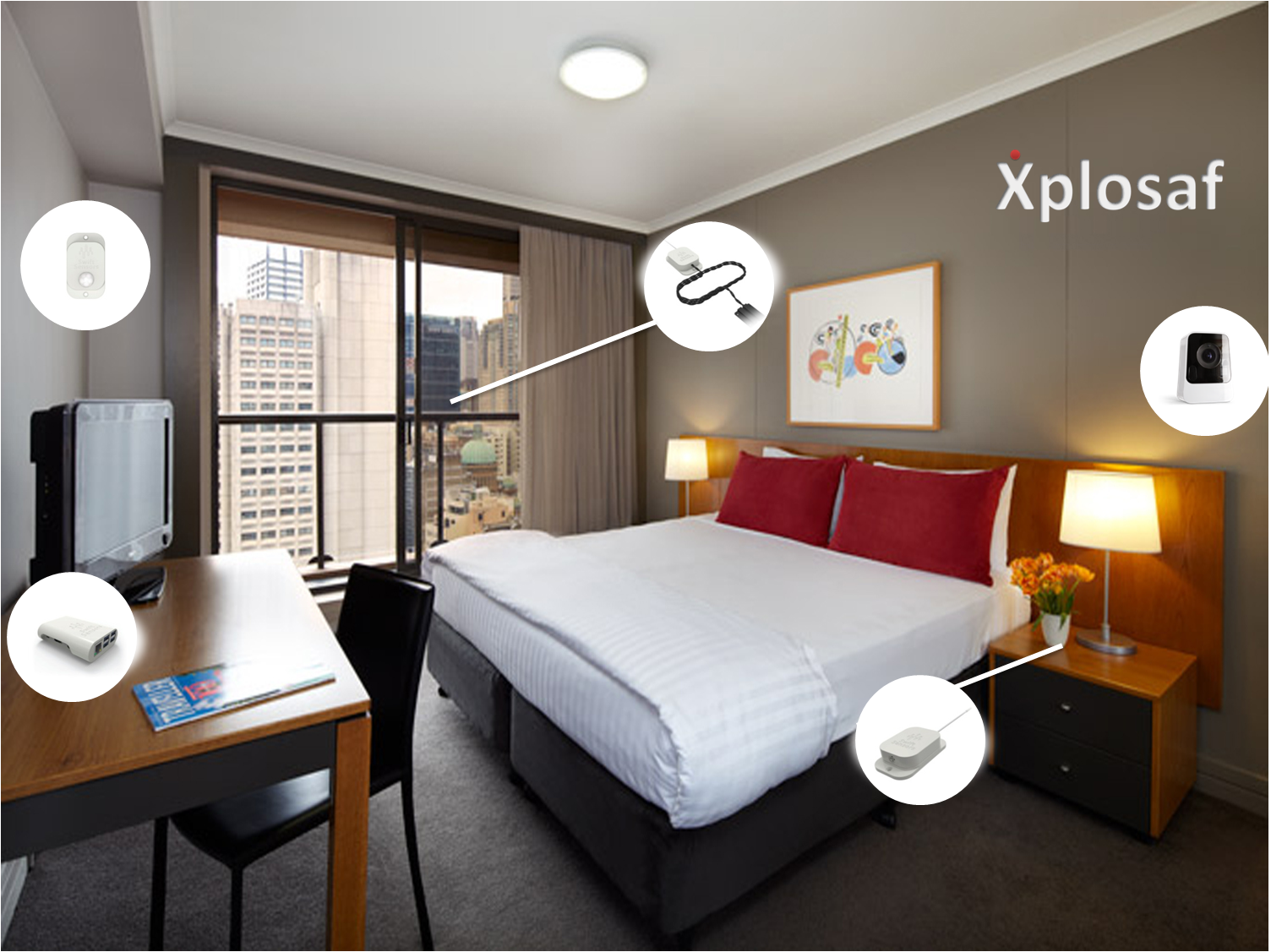 We love smart rooms  - We love how smart rooms help us learn, have fun and enrich our living experience. Children, students, travellers and families cant get enough of Xplosaf