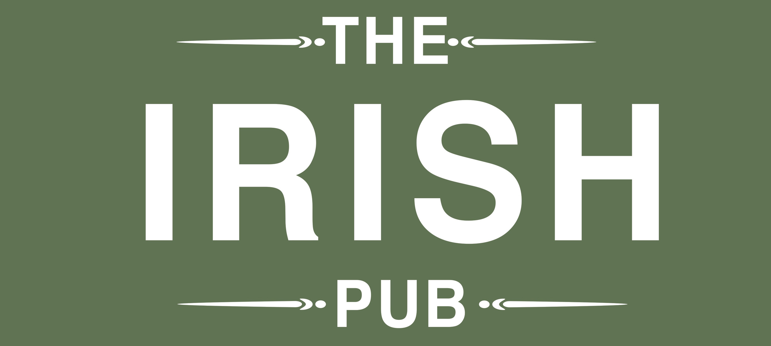 THE IRISH PUB is available for all territories except UK & Ireland