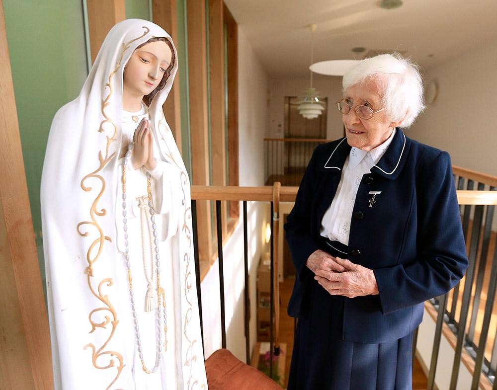 Sr Eileen With Blessed Virgin.jpg