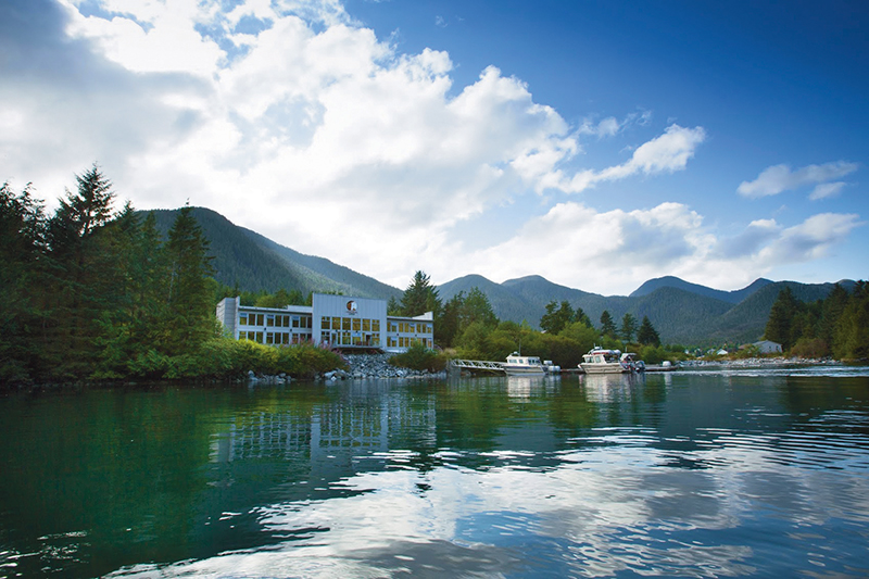 Situated in the heart of the Great Bear Rainforest, Spirit Bear Lodge treats its guests to Kitasoo/Xai'xais First Nation culture and hospitality and ecotourism adventures. Photos: supplied