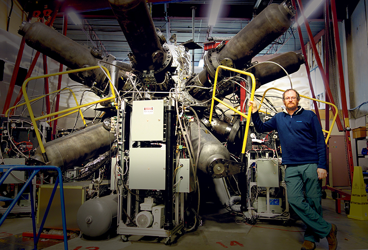 Dr. Michel Laberge explains General Fusion's system for creating magnetized target fusion, which he believes could be cost effectively applied for power plants. SUSANNE MARTIN