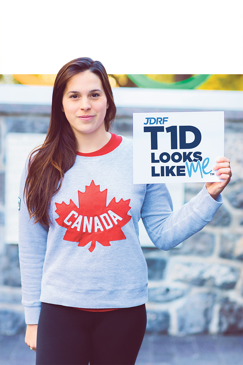 Olympic swimmer Barbara Jardin shares her experiences of living with T1D as JDRF's national ambassador to create awareness on World Diabetes Day. supplied