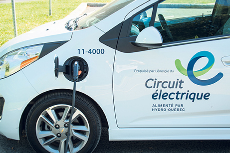 Canada has enough potential hydropower to fuel all light-duty cars and trucks in Canada and 25 per cent of those in the U.S. if those vehicles were converted to plug-in electricity. Photo: Hydro Québec