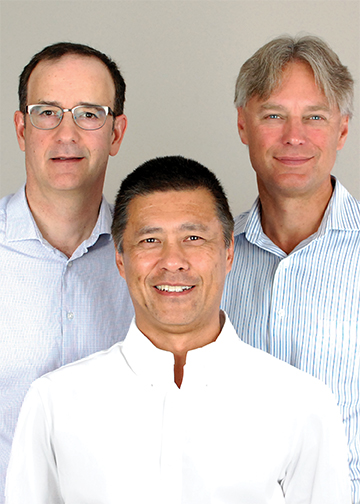 CircuitMeter's leadership team – Michael Ordanis, chief technology officer; Dan Seto, chief operating officer; and Paul Mertes, chief executive officer – has developed technology to record electricity use data at the circuit level, which enables companies to identify energy inefficiencies and ultimately benefit from significant cost savings. supplied