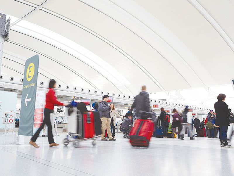 Canadian airports are drivers of economic growth and facilitate trade and tourism. Supplied