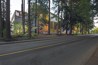 UBC's Living Lab made it possible for the campus to reduce GHG emissions by 30 per cent below 2007 levels in 2015 – and the technology is scalable. Shown: UBC Bioenergy Research & Demonstration Facility. Don Erhardt