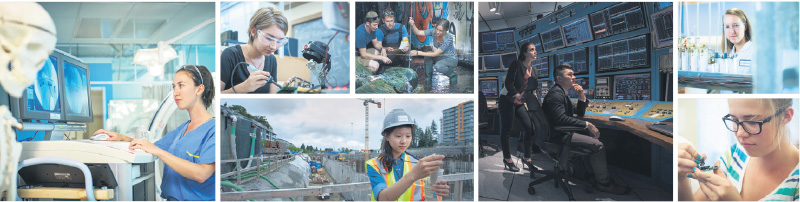 From their first year onward, UBC engineering students learn how to design and build products, and how to work effectively as members of an engineering team. supplied