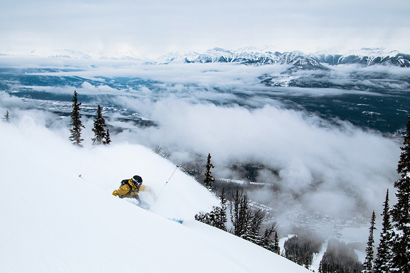 British Columbia ski resorts. Brandon Hartwig