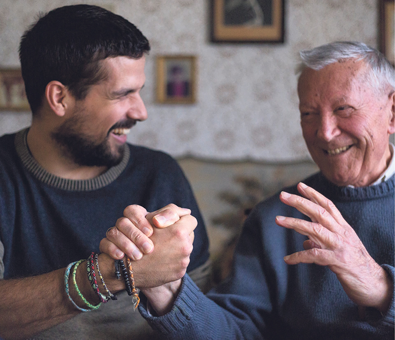 The Revera and Reel Youth video production partnership creates an opportunity for both young and old to dispel myths about age and develop intergenerational friendships. supplied