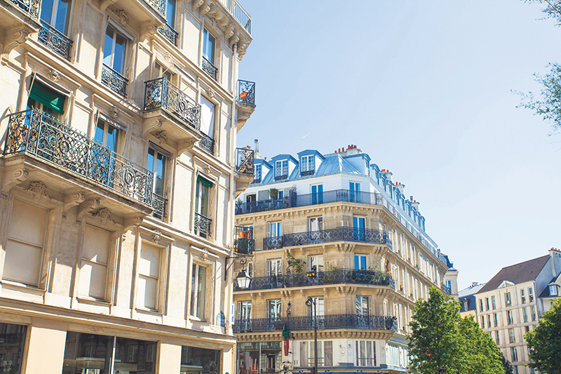 Pied-à-terre in Paris? Be aware that the inheritance laws are different in France and need to be taken into account for estate planning purposes. istockphoto.com